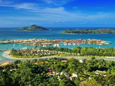 Aerial-view-on-the-coastline-of-the-Seychelles-Islands-and-luxury-Eden-Island-from-Victoria-viewpoint-in-Mahé-Copy