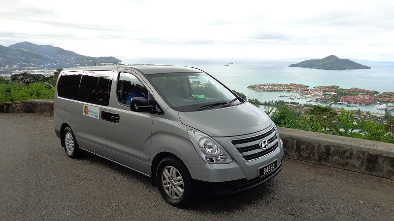 Vision Voyages Airport Transfer Vehicle