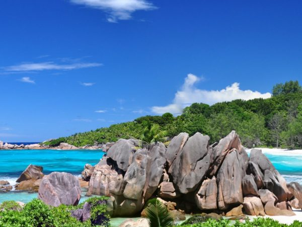 Anse Coco - One on the most beautiful La Digue Beaches
