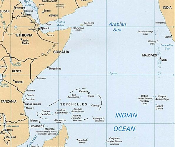 Seychelles Location