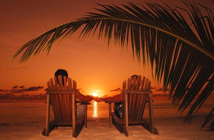 Sunset Romance Seychelles