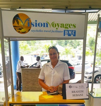 Vision Voyages DMC Seychelles Airport Desk