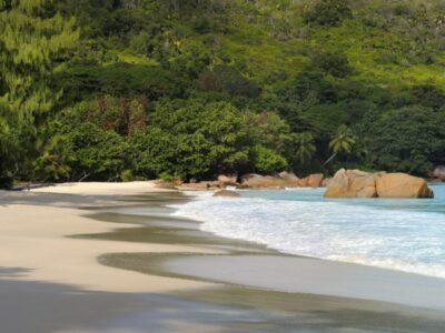 Anse Lazio Beach on Praslin is one of Seychelles Finest Beaches