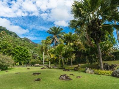 Mahe Island-Botanical-Garden