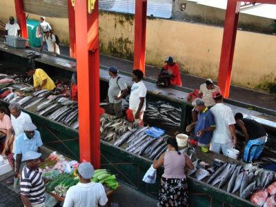Mahe Island-Market