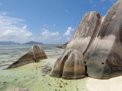 Source D'Argent Granite Rocks