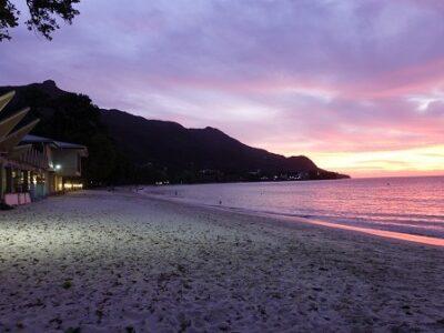 Sunset_Beau Vallon Beach